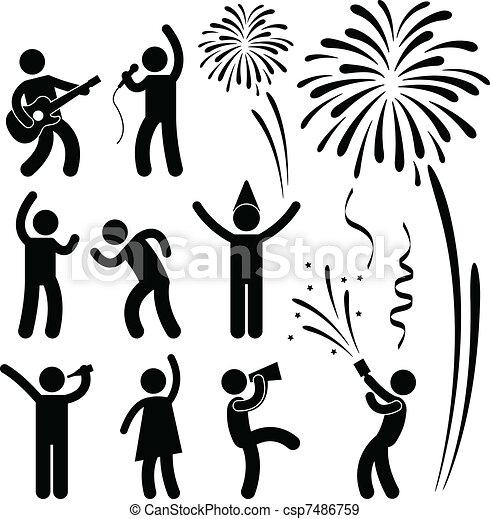 Partyfestival - csp7486759