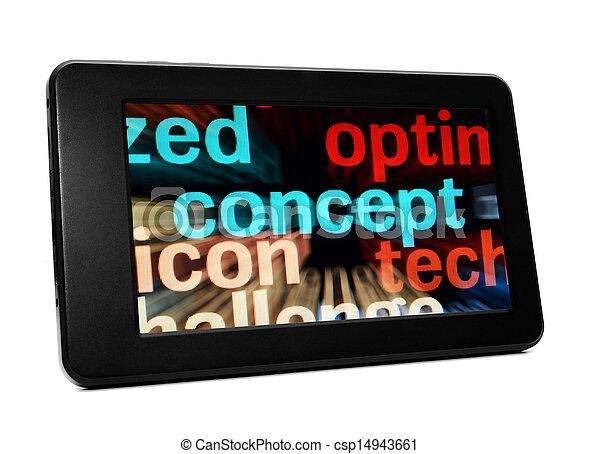 pc, begriff, tablette - csp14943661