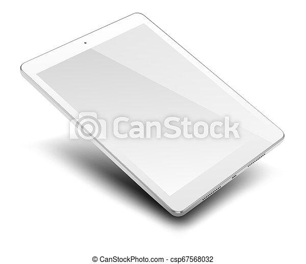 pc computer, screen., tablette, leer - csp67568032