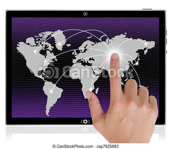 PC Tablet Computer - csp7625683