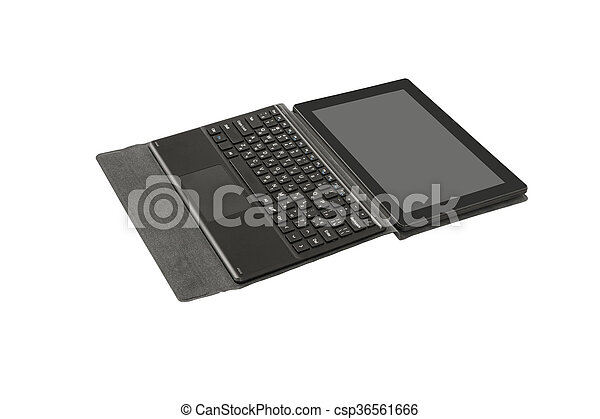pc, keyboard., tablette - csp36561666
