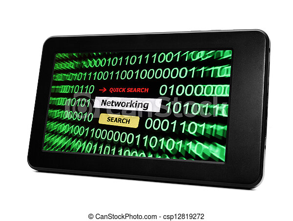 pc, networking, tablette - csp12819272