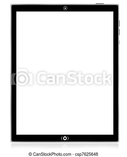 pc, tablette, computer., leer - csp7625648