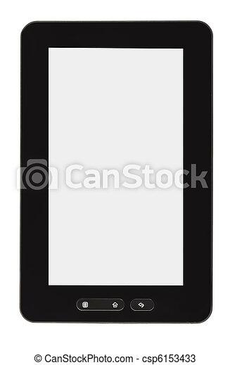 Blanke Tablet PC - csp6153433