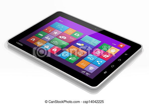 pc, tablette - csp14042225