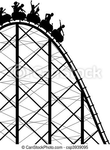 Rollercoaster. - csp3939095