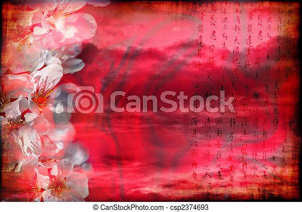 Romantisches Porzellan - csp2374693