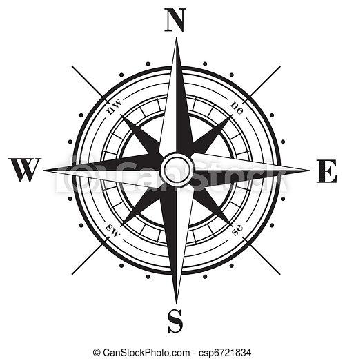 Kompass Rose - csp6721834
