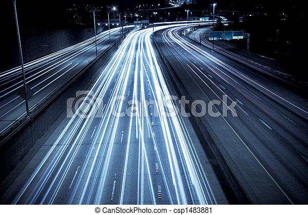 Rush-Hour-Verkehr. - csp1483881