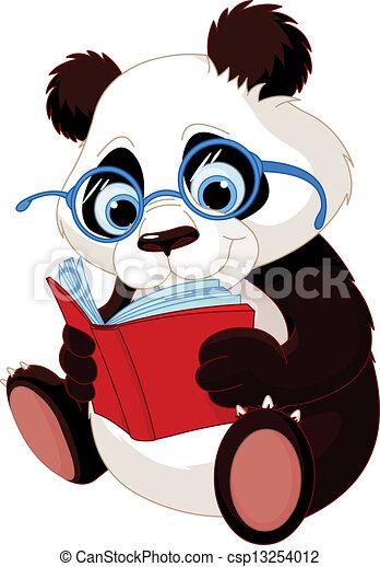 Süße Panda-Ausbildung - csp13254012