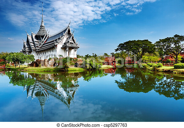 Sanphet prasat palast, thailand - csp5297763