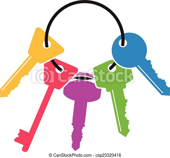 schlüssel, bündel - csp23320416