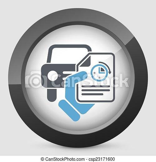 Schneller Autoservice. - csp23171600