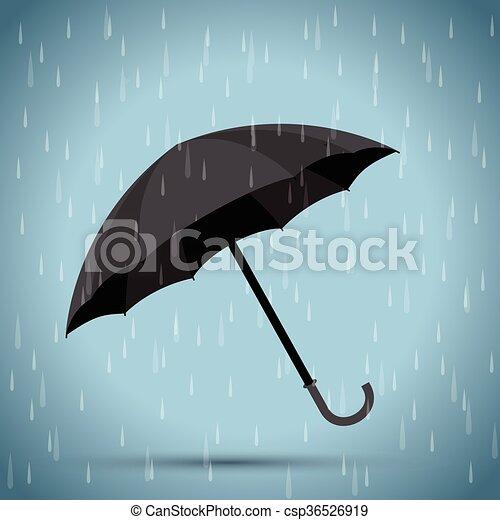 schwarzer regenschirm hintergrund  canstock