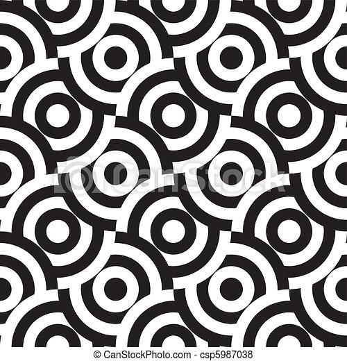 Seamless Muster (vektor) - csp5987038
