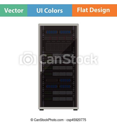 Server-Rack-Icon - csp45920775