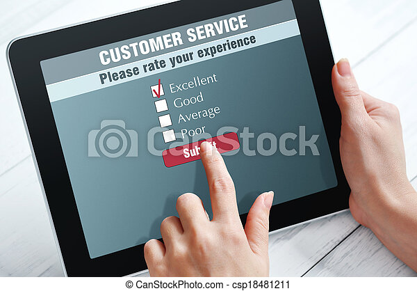Online-Kundendienst - csp18481211