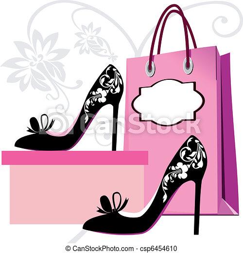 Shopping Hintergrund - csp6454610