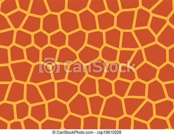 Skin Giraffe. - csp19610228