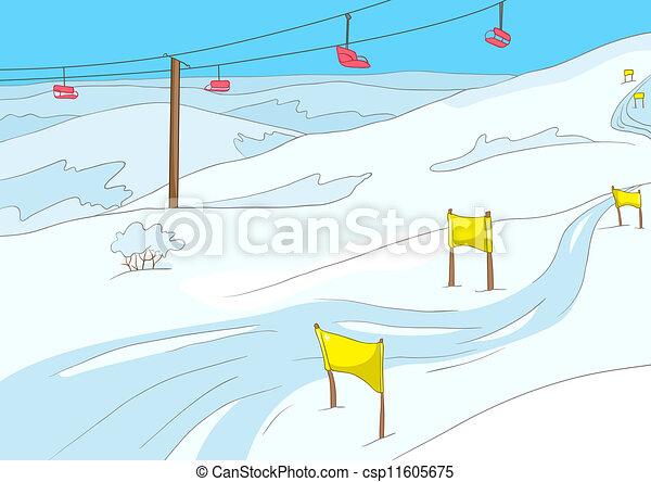 Skiurlaub - csp11605675