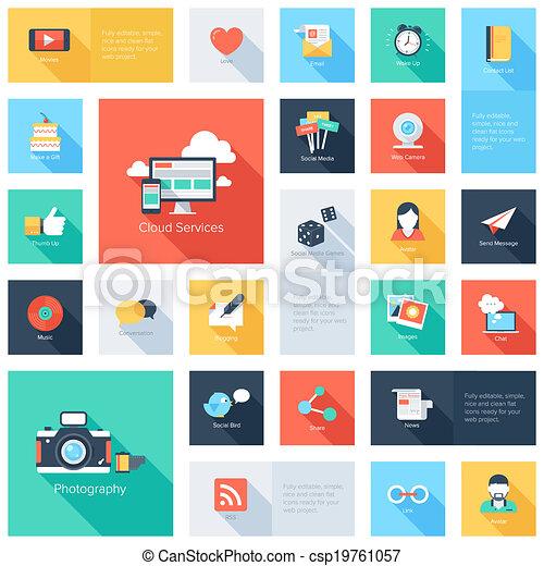 Social Media Icons. - csp19761057