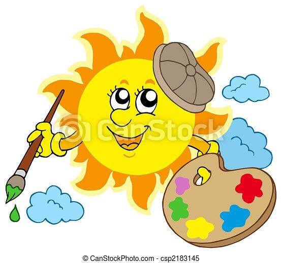 Sonnenkünstler - csp2183145