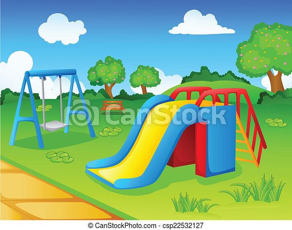 Spielplatz für Kinder. - csp22532127
