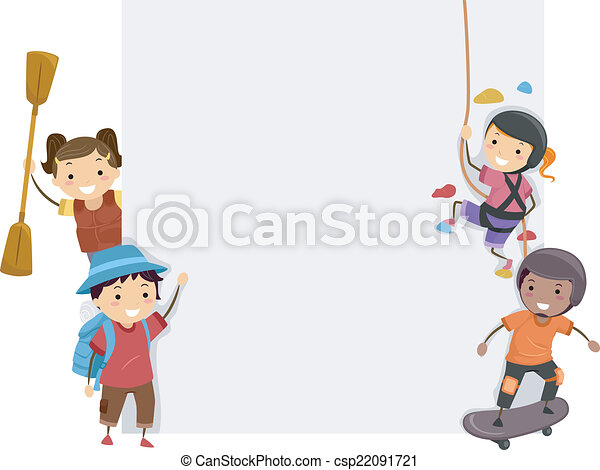 Sports Adventure Board. - csp22091721