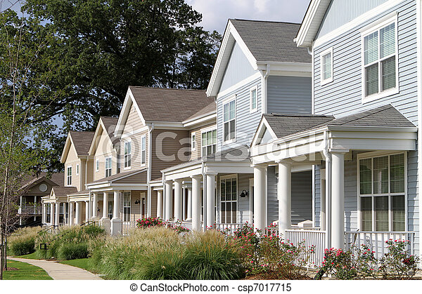 Stadthäuser - csp7017715