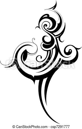 Stammeskunst - csp7291777