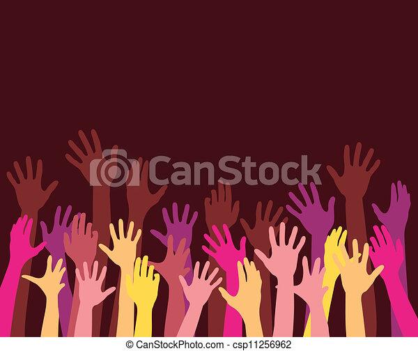 Erhebende Hände - csp11256962