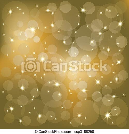 Sterne leuchten im Hintergrund - csp3188250