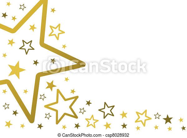 sternen, hintergrund - csp8028932