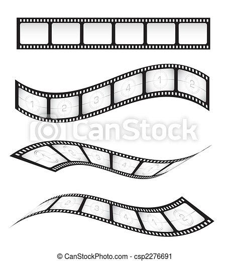 streifen, film - csp2276691