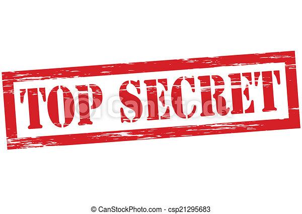 Streng geheim. - csp21295683