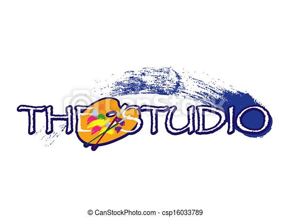 Studiozeichen - csp16033789