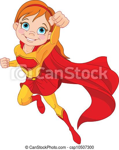 Super Mädchen - csp10507300