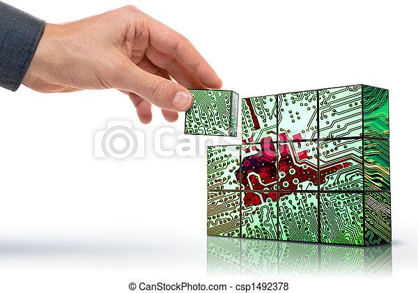 Technologie schaffen - csp1492378