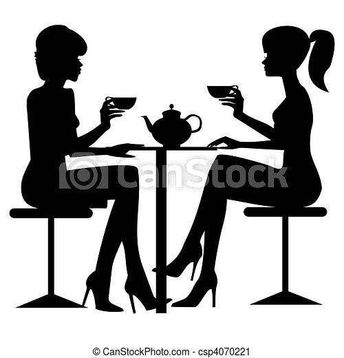 Teezeit - csp4070221