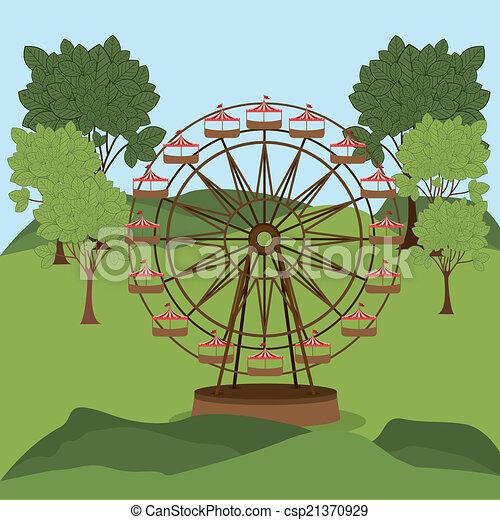 Theme Park Design. - csp21370929