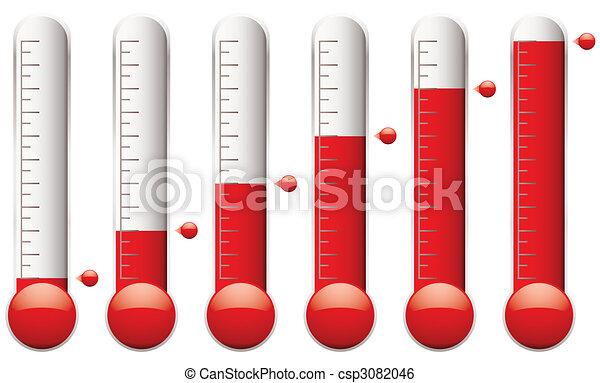 Thermometer-Set - csp3082046