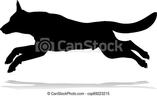 Hundeschlittentier - csp69223215