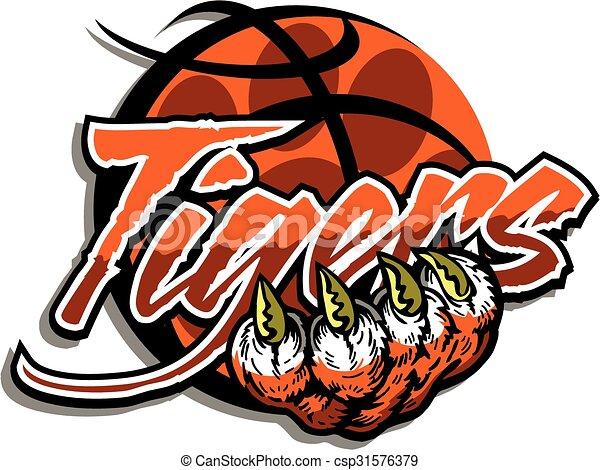 Tiger Basketball - csp31576379