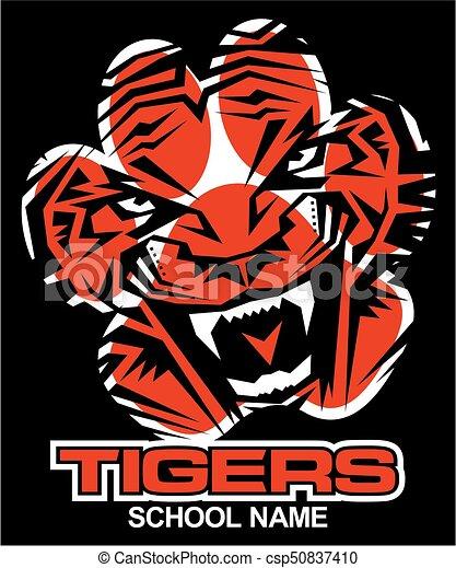 Tiger. - csp50837410