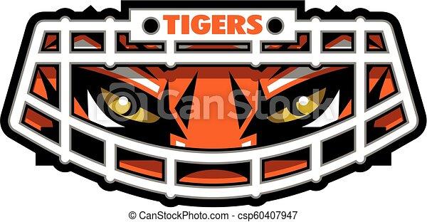 Tigerfußball. - csp60407947