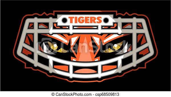 Tigerfußball. - csp68509813