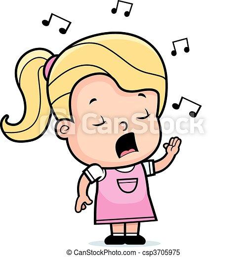 Toddler singt - csp3705975