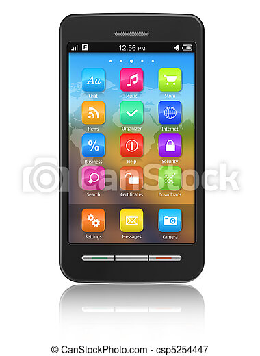 touchscreen, smartphone - csp5254447