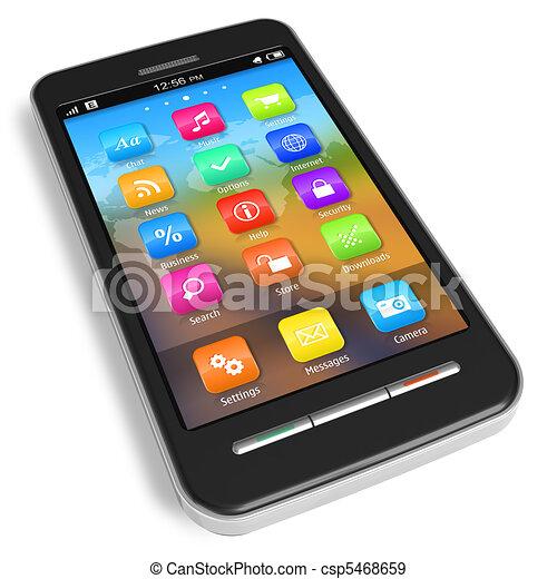 Touchscreen Smartphone - csp5468659
