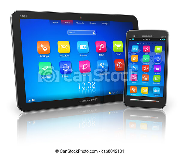 touchscreen, tablette pc, smartphone - csp8042101